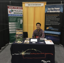 Thomas Kwok, ChBE Grad Student and RBI Fellow at the 2018 Biomass Conference